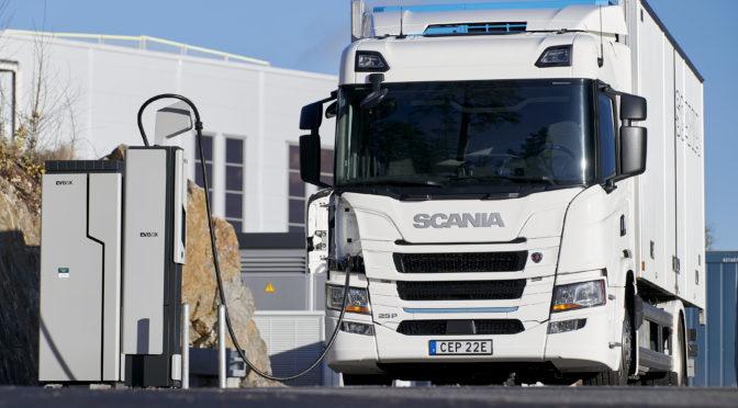 Scania: nasce la partnership con ENGIE e EVBoxper le soluzioni di ricarica